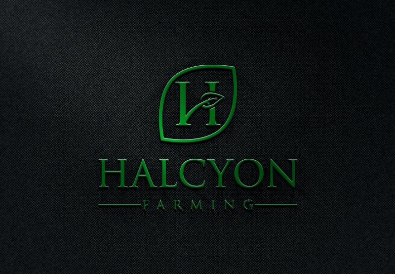 Logo Design by Private User - Entry No. 132 in the Logo Design Contest Creative Logo Design for Halcyon Farming.