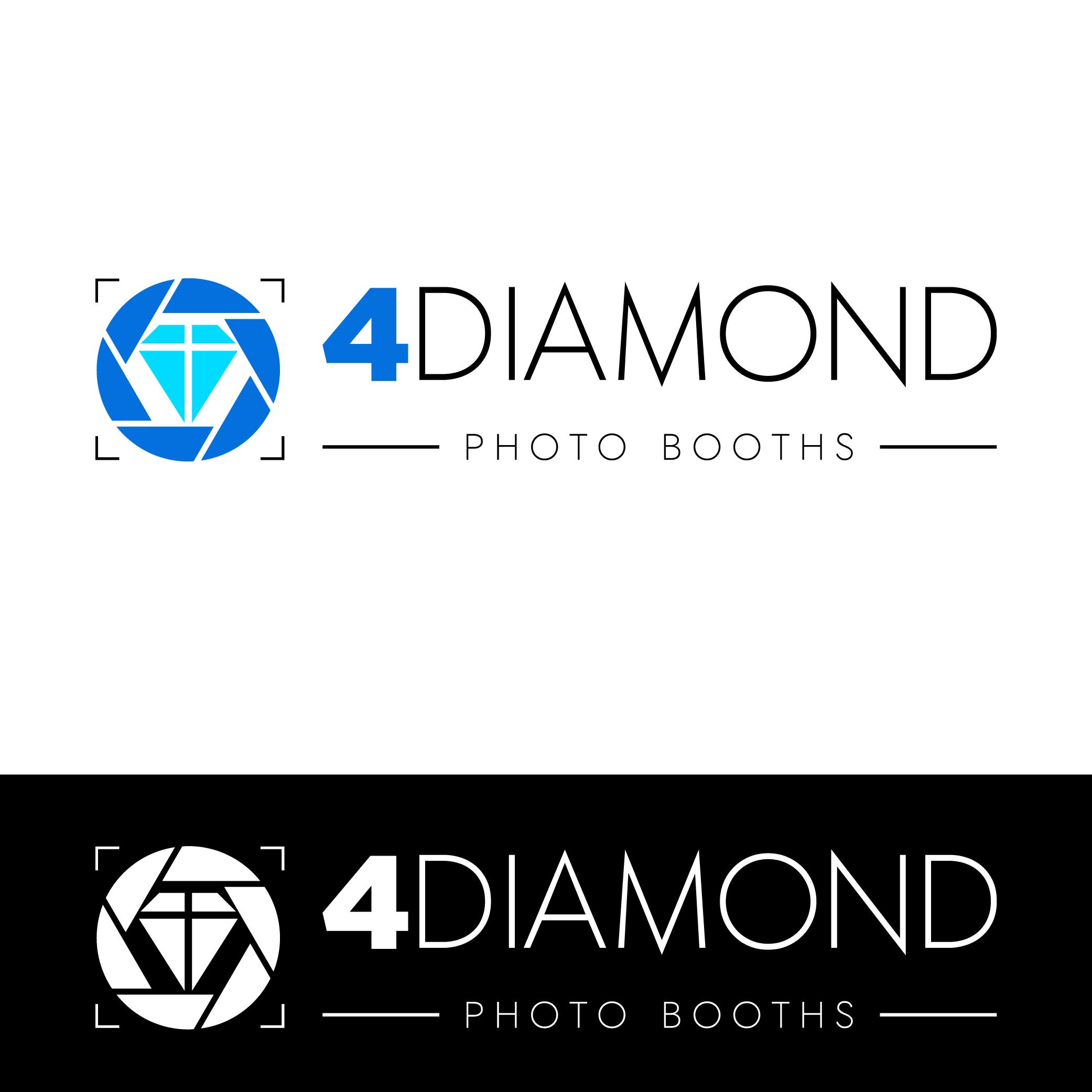 Logo Design by Private User - Entry No. 12 in the Logo Design Contest Creative Logo Design for 4 Diamond Photo Booths.