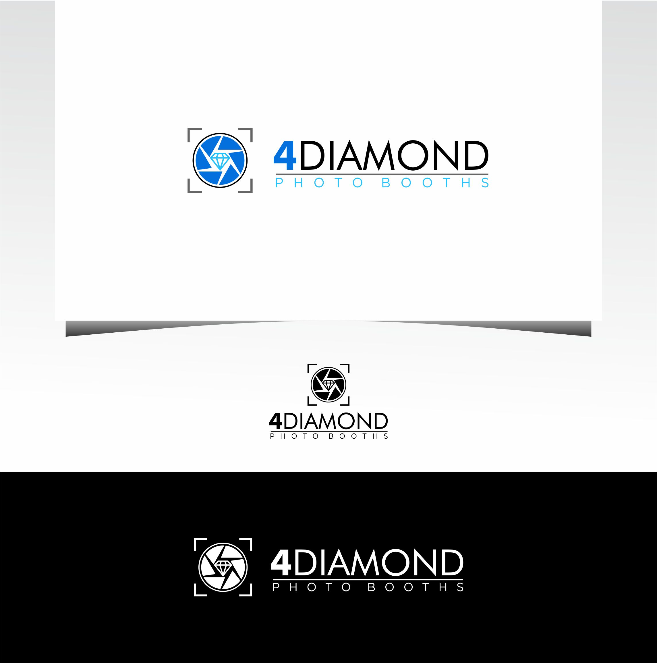 Logo Design by Raymond Garcia - Entry No. 14 in the Logo Design Contest Creative Logo Design for 4 Diamond Photo Booths.