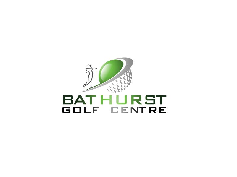 Logo Design by Private User - Entry No. 2 in the Logo Design Contest Inspiring Logo Design for Bathurst Golf Centre.