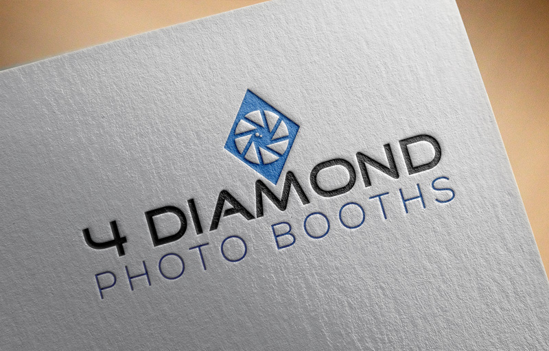 Logo Design by Md Harun Or Rashid - Entry No. 17 in the Logo Design Contest Creative Logo Design for 4 Diamond Photo Booths.