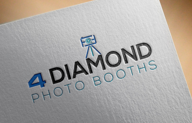 Logo Design by Md Harun Or Rashid - Entry No. 19 in the Logo Design Contest Creative Logo Design for 4 Diamond Photo Booths.