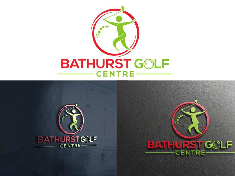 Logo Design by Md Harun Or Rashid - Entry No. 4 in the Logo Design Contest Inspiring Logo Design for Bathurst Golf Centre.