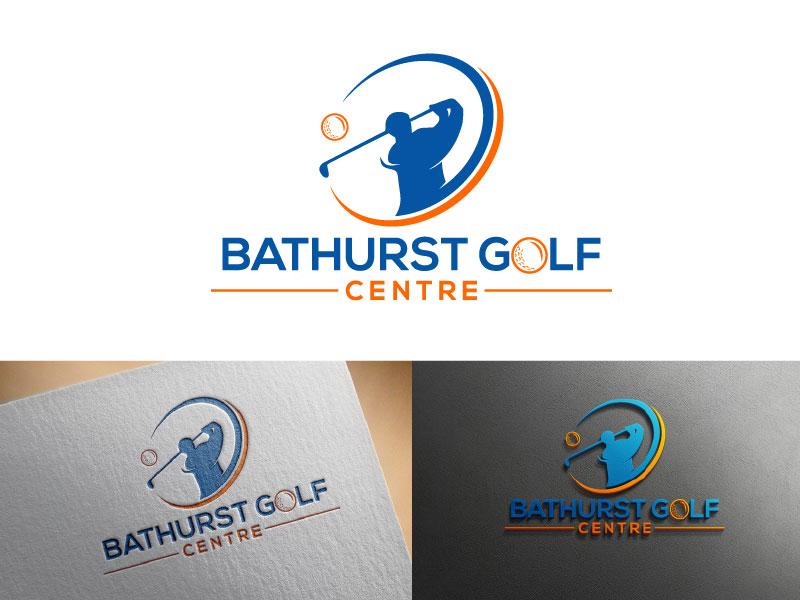 Logo Design by Md Harun Or Rashid - Entry No. 5 in the Logo Design Contest Inspiring Logo Design for Bathurst Golf Centre.