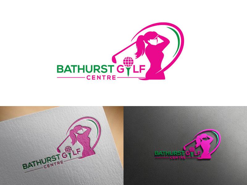 Logo Design by Md Harun Or Rashid - Entry No. 6 in the Logo Design Contest Inspiring Logo Design for Bathurst Golf Centre.