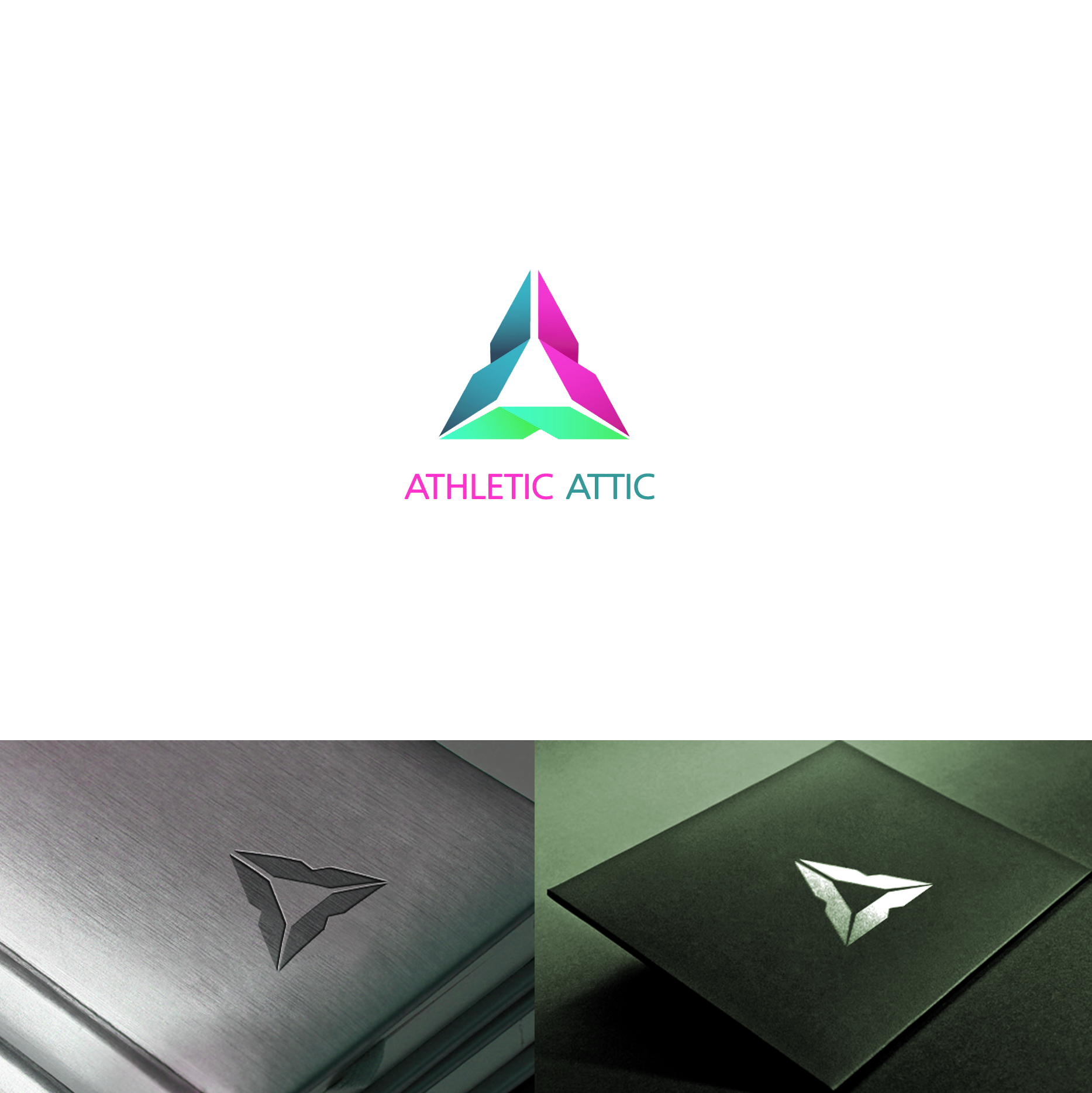 Logo Design by Serhat Doymuş - Entry No. 160 in the Logo Design Contest Fun Logo Design for Athletic Attic.