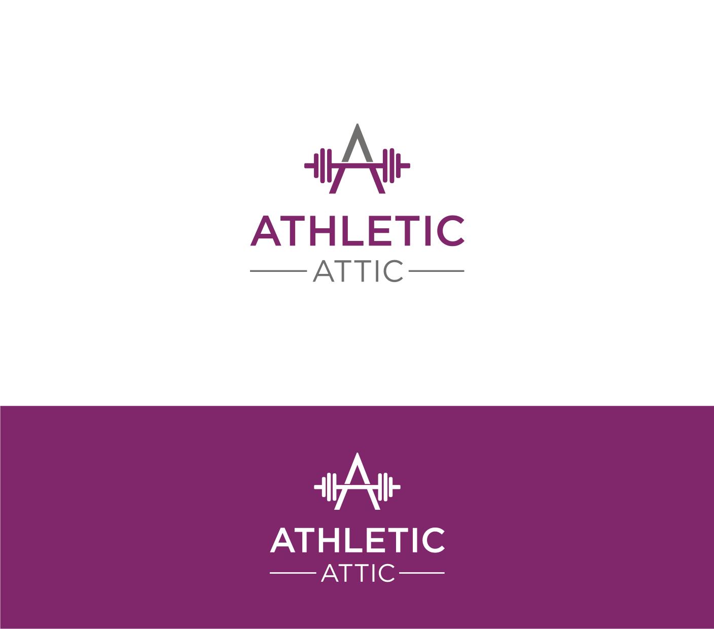 Logo Design by Sigitumarali Sigit - Entry No. 166 in the Logo Design Contest Fun Logo Design for Athletic Attic.