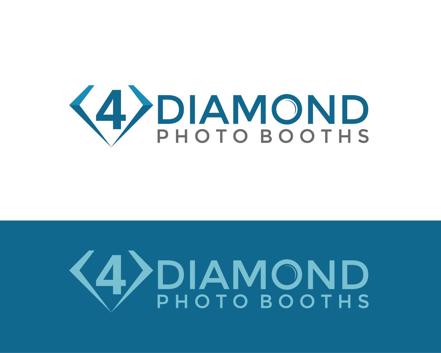 Logo Design by Allan Esclamado - Entry No. 23 in the Logo Design Contest Creative Logo Design for 4 Diamond Photo Booths.