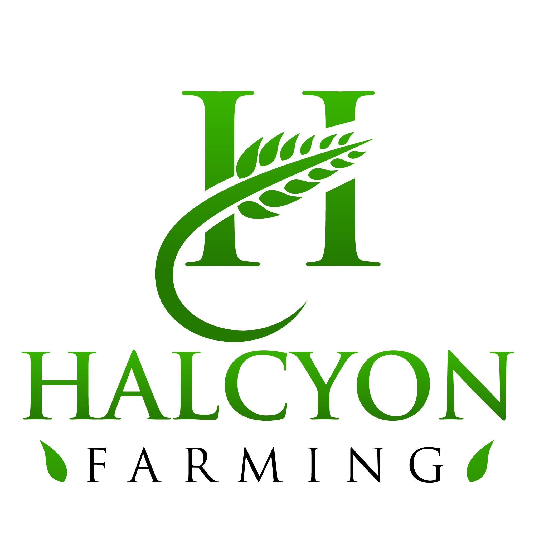 Logo Design by Private User - Entry No. 136 in the Logo Design Contest Creative Logo Design for Halcyon Farming.