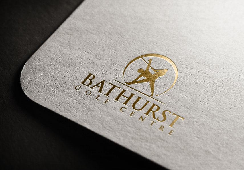 Logo Design by Private User - Entry No. 10 in the Logo Design Contest Inspiring Logo Design for Bathurst Golf Centre.
