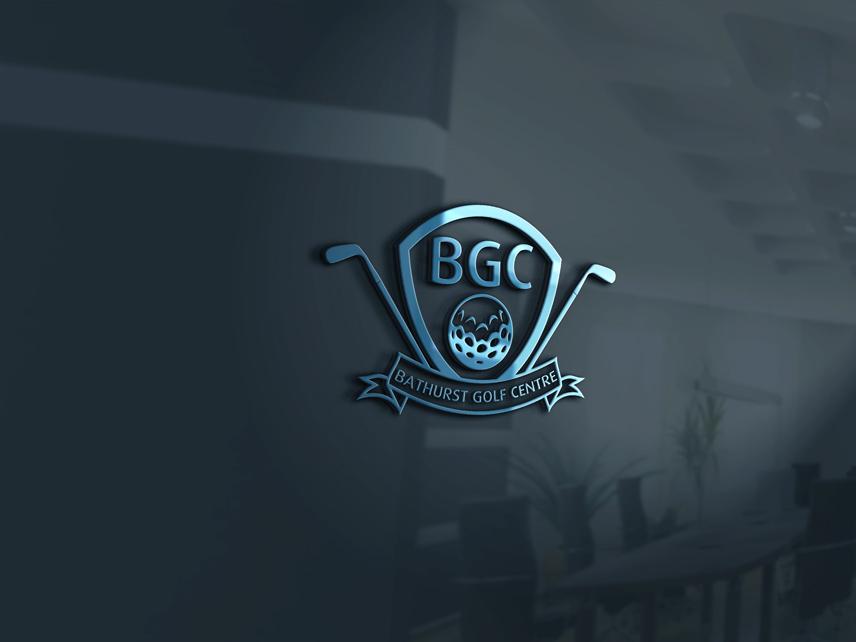 Logo Design by Private User - Entry No. 12 in the Logo Design Contest Inspiring Logo Design for Bathurst Golf Centre.