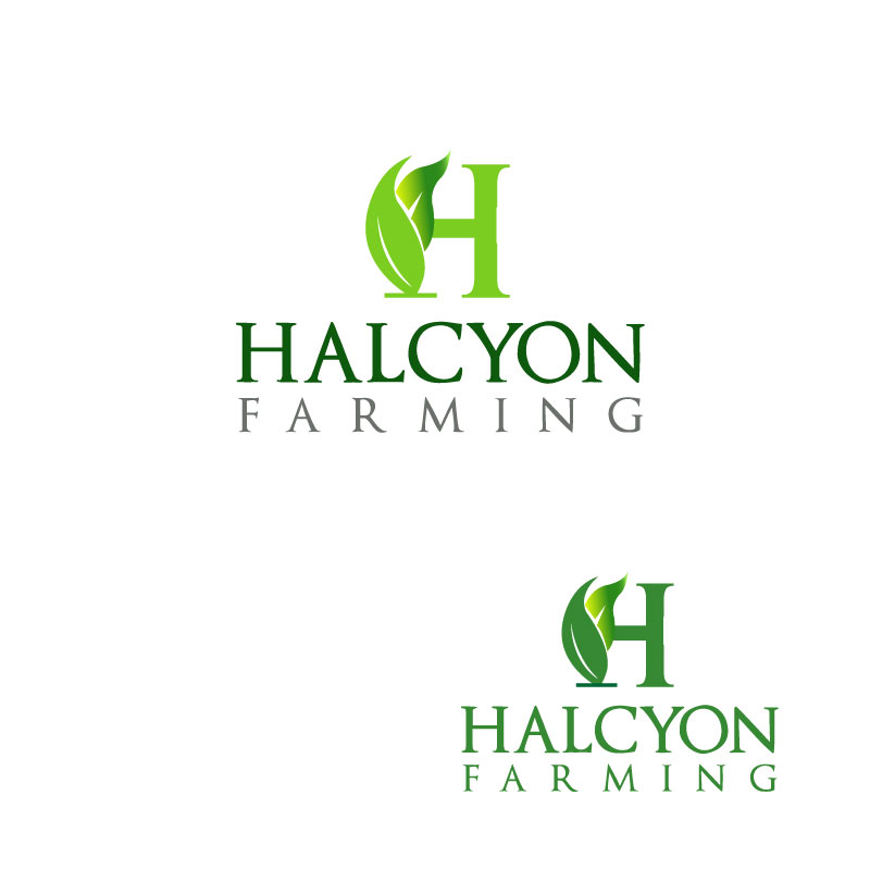 Logo Design by Ajaz ahmed Sohail - Entry No. 139 in the Logo Design Contest Creative Logo Design for Halcyon Farming.