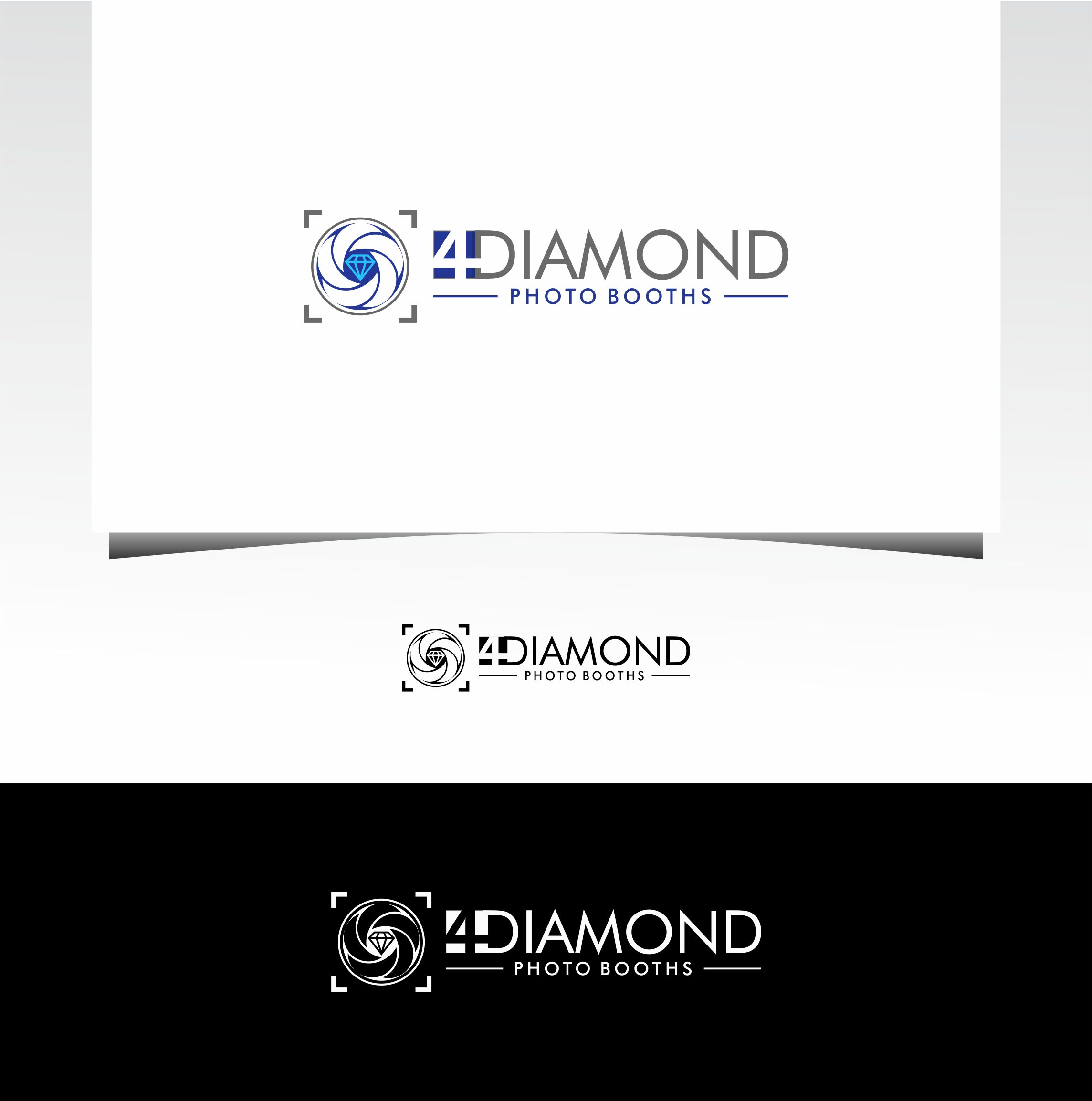Logo Design by Raymond Garcia - Entry No. 26 in the Logo Design Contest Creative Logo Design for 4 Diamond Photo Booths.