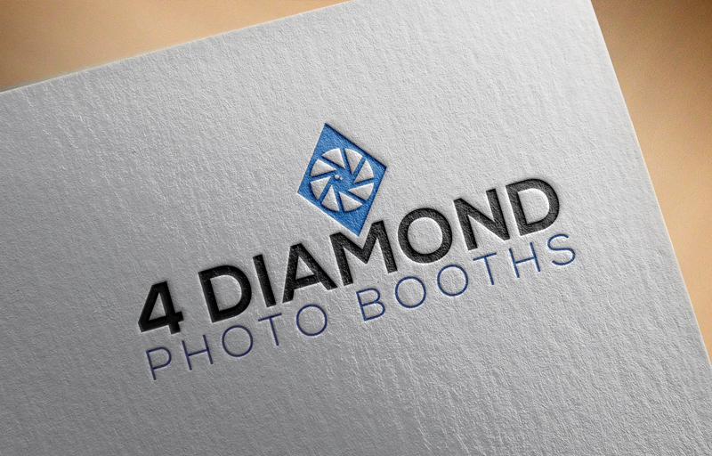 Logo Design by Md Harun Or Rashid - Entry No. 27 in the Logo Design Contest Creative Logo Design for 4 Diamond Photo Booths.