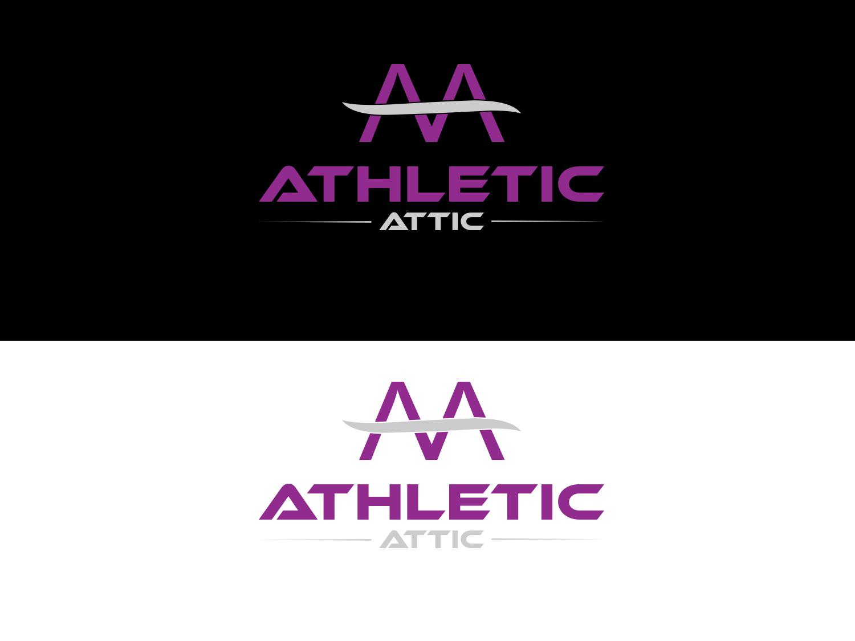 Logo Design by Zahidul Islam - Entry No. 172 in the Logo Design Contest Fun Logo Design for Athletic Attic.