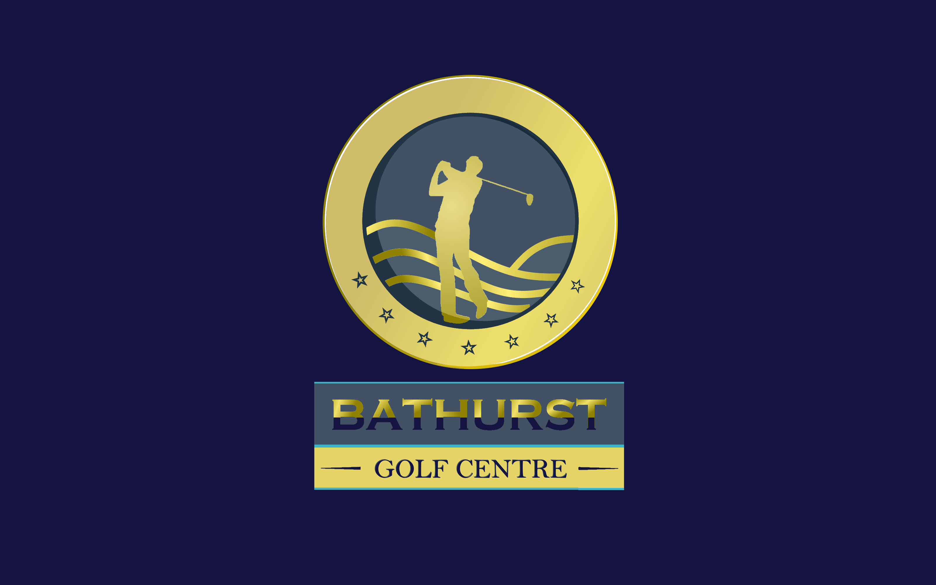 Logo Design by Roberto Bassi - Entry No. 15 in the Logo Design Contest Inspiring Logo Design for Bathurst Golf Centre.