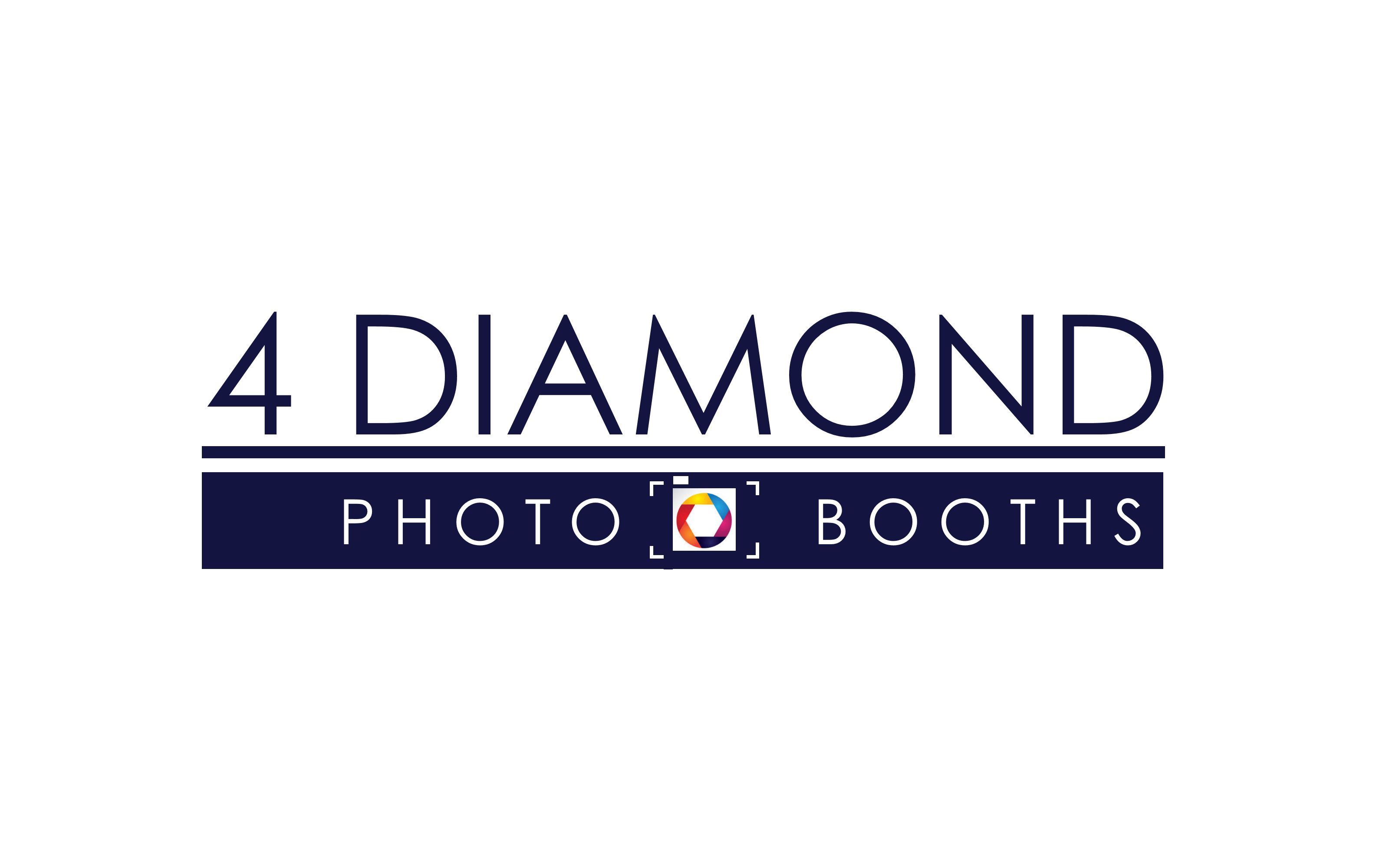 Logo Design by Roberto Bassi - Entry No. 28 in the Logo Design Contest Creative Logo Design for 4 Diamond Photo Booths.