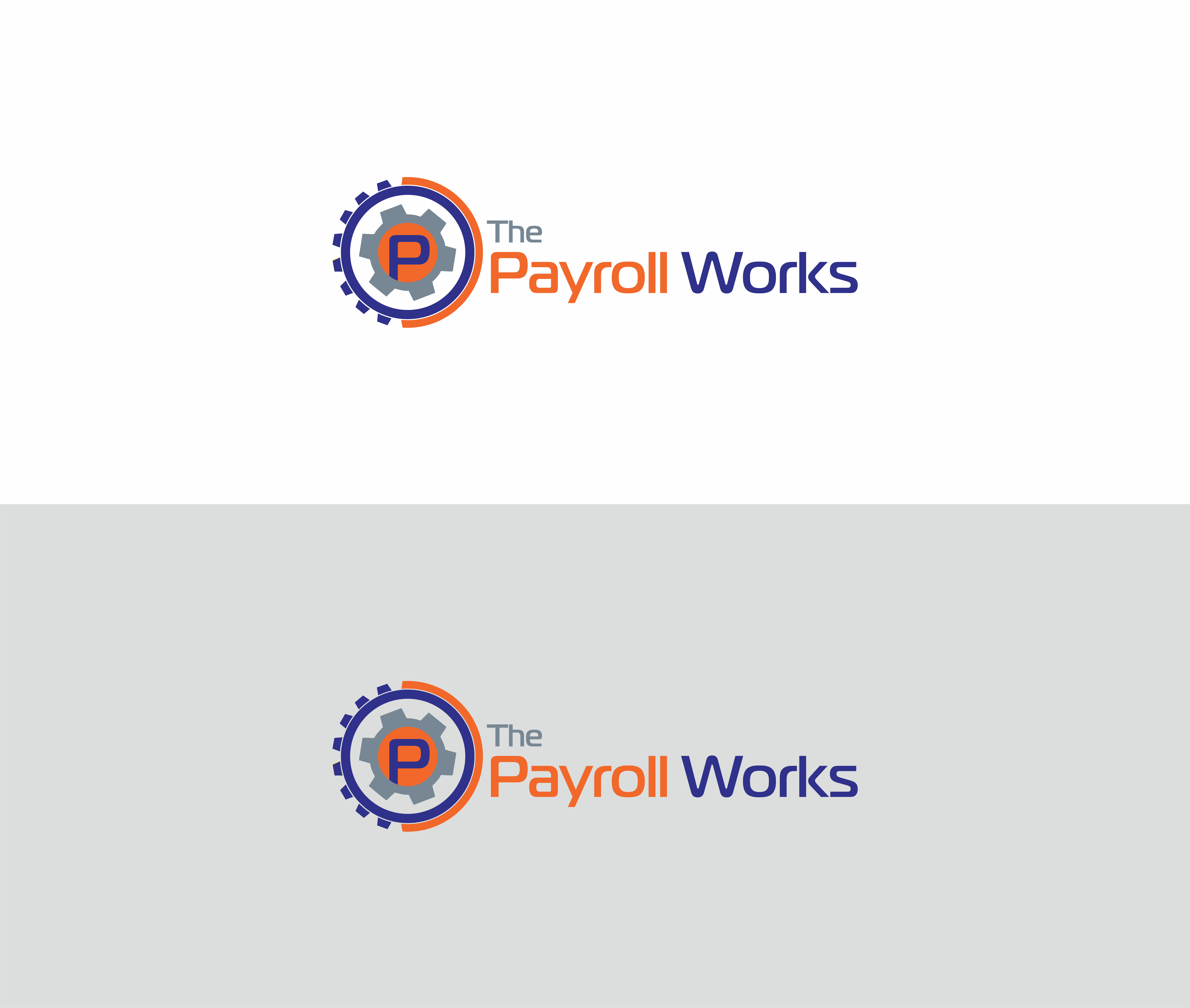 Logo Design by NOOR SYAIFUDDIN - Entry No. 34 in the Logo Design Contest Captivating Logo Design for The Payroll Works.