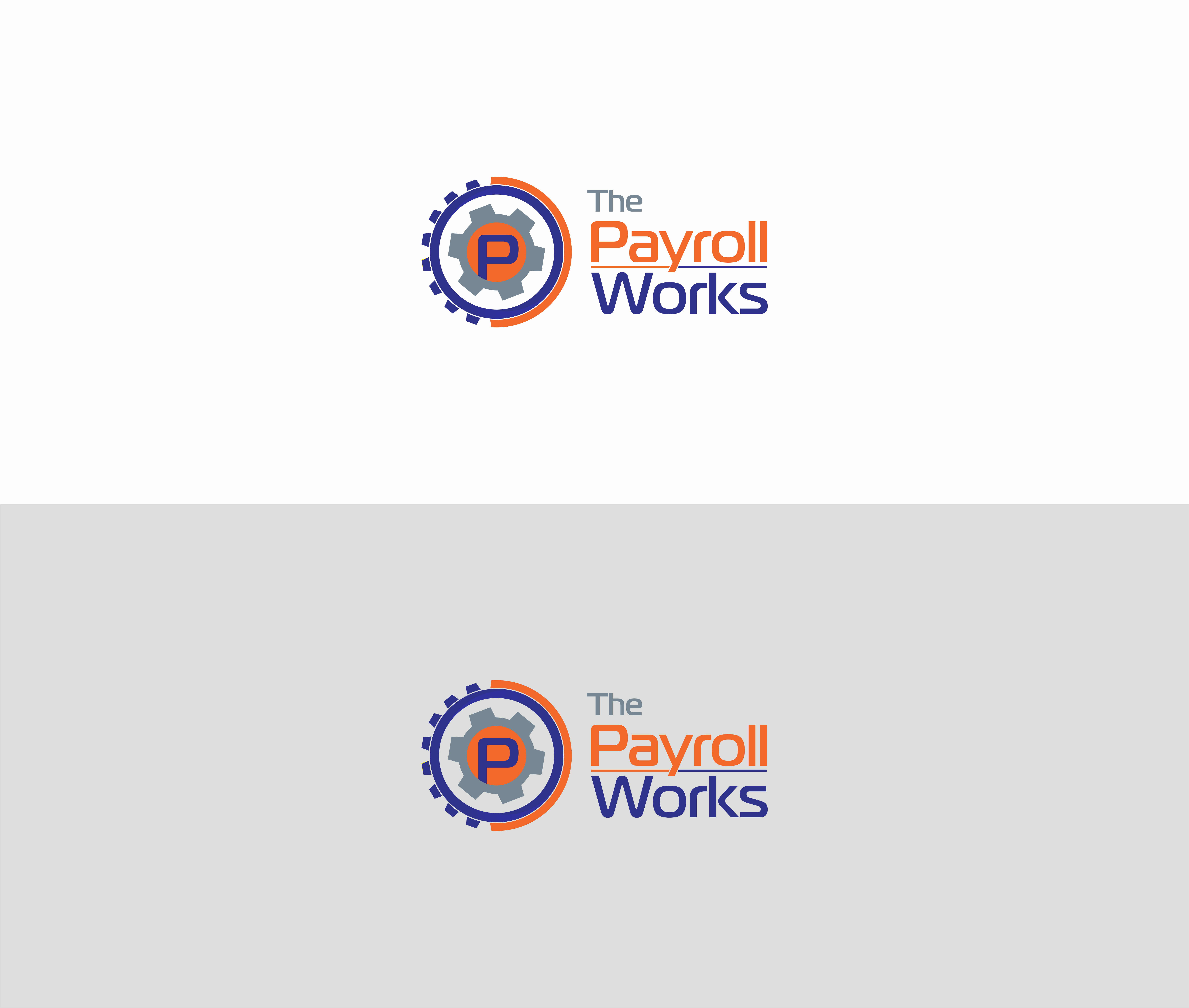 Logo Design by NOOR SYAIFUDDIN - Entry No. 35 in the Logo Design Contest Captivating Logo Design for The Payroll Works.