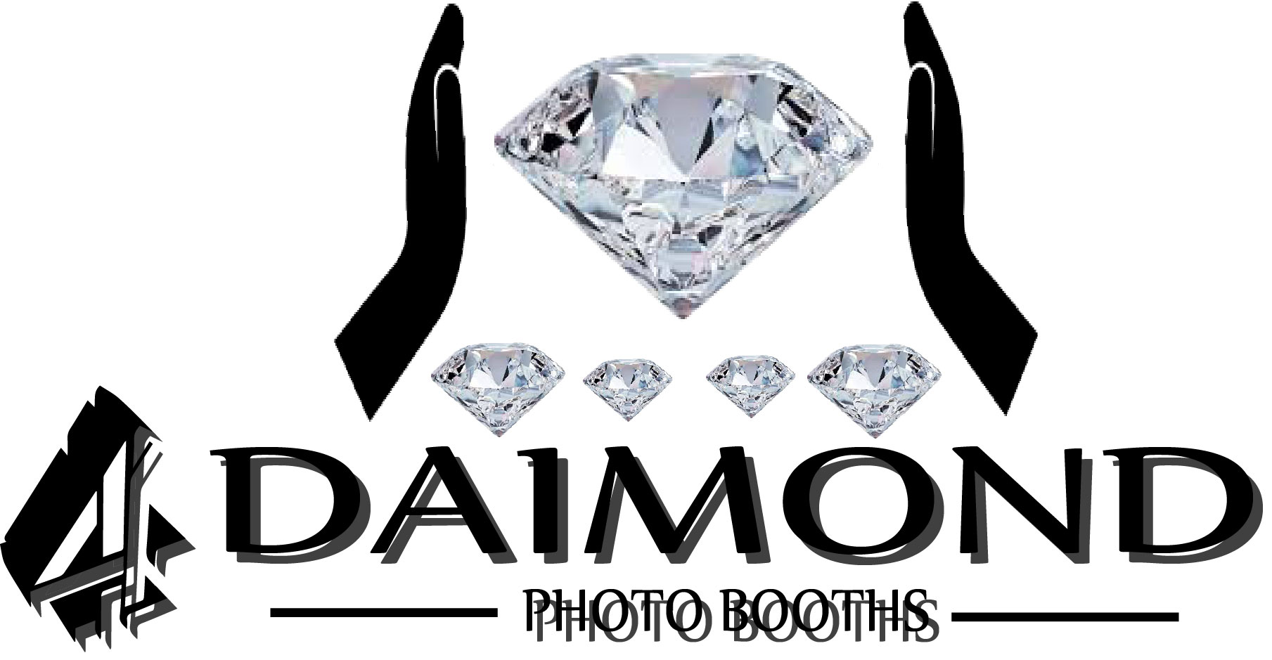 Logo Design by Business Ideas - Entry No. 29 in the Logo Design Contest Creative Logo Design for 4 Diamond Photo Booths.
