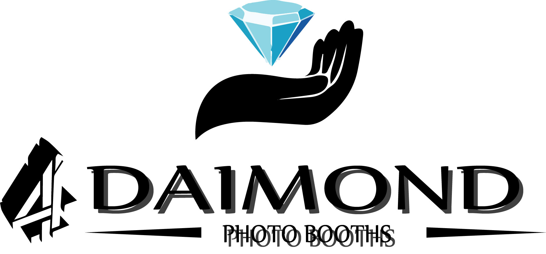Logo Design by Business Ideas - Entry No. 30 in the Logo Design Contest Creative Logo Design for 4 Diamond Photo Booths.