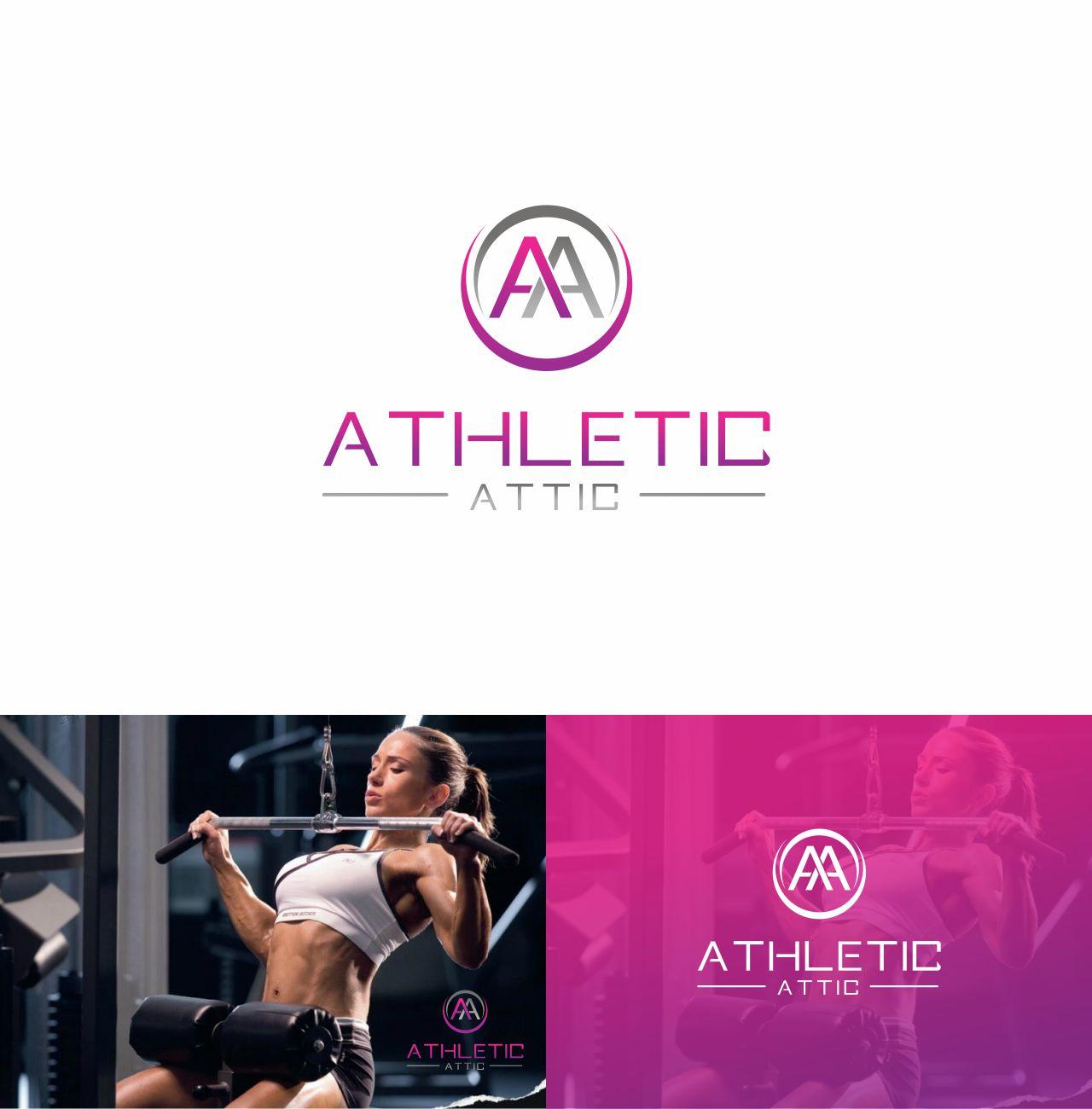 Logo Design by RasYa Muhammad Athaya - Entry No. 180 in the Logo Design Contest Fun Logo Design for Athletic Attic.