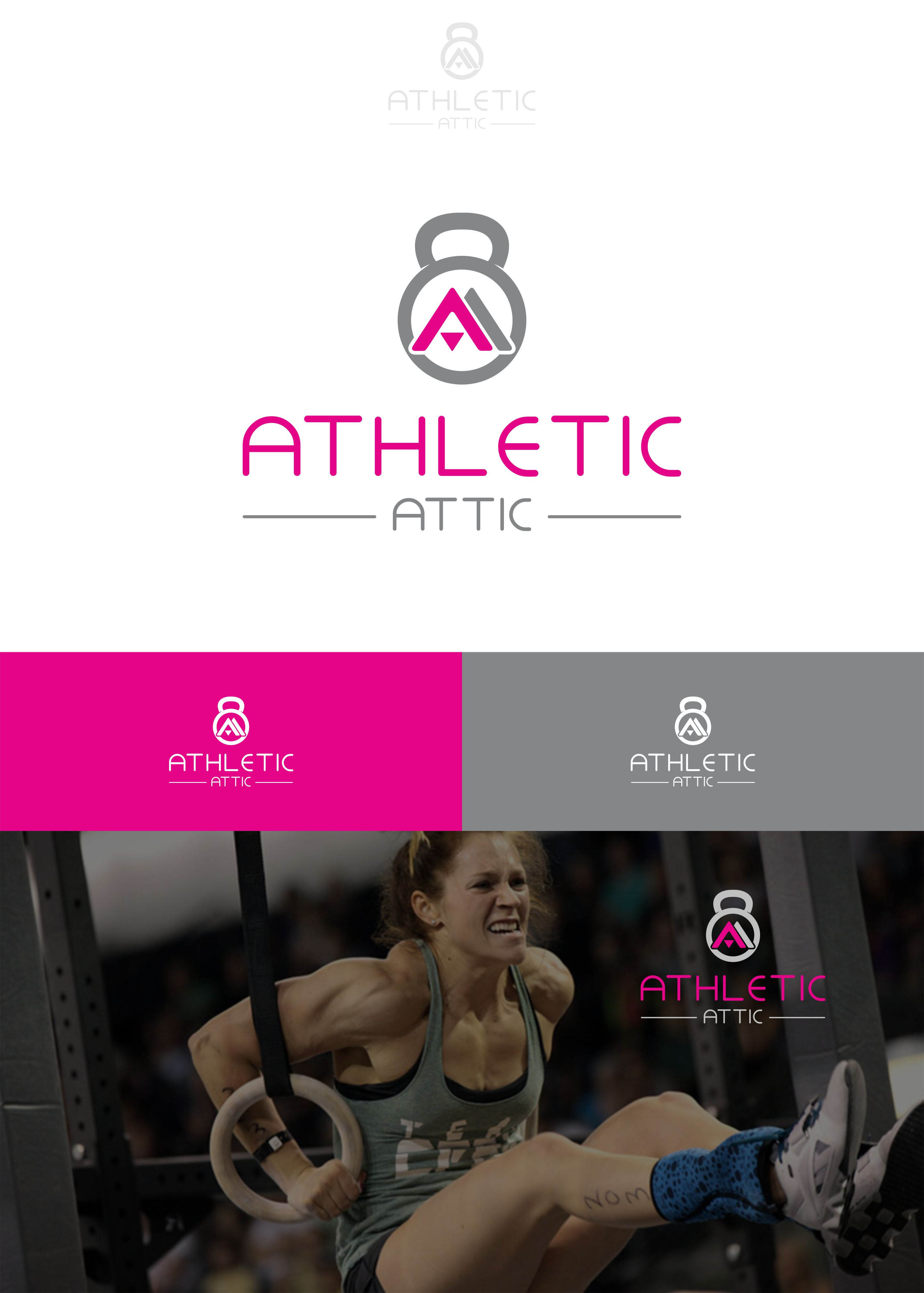Logo Design by Raymond Garcia - Entry No. 181 in the Logo Design Contest Fun Logo Design for Athletic Attic.