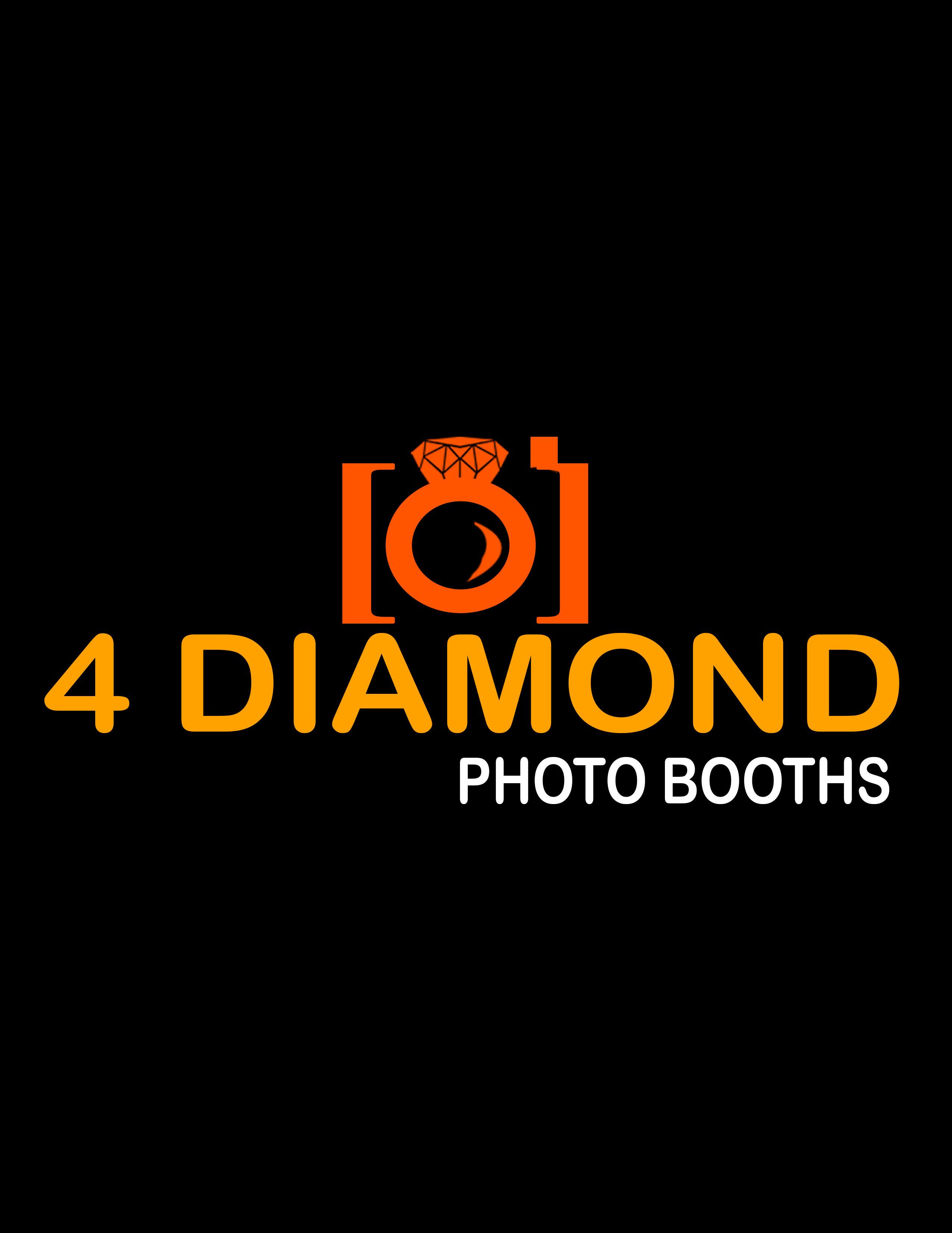 Logo Design by kjm22 - Entry No. 32 in the Logo Design Contest Creative Logo Design for 4 Diamond Photo Booths.
