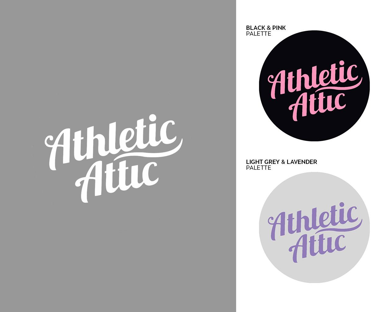 Logo Design by thebranddesigner - Entry No. 182 in the Logo Design Contest Fun Logo Design for Athletic Attic.