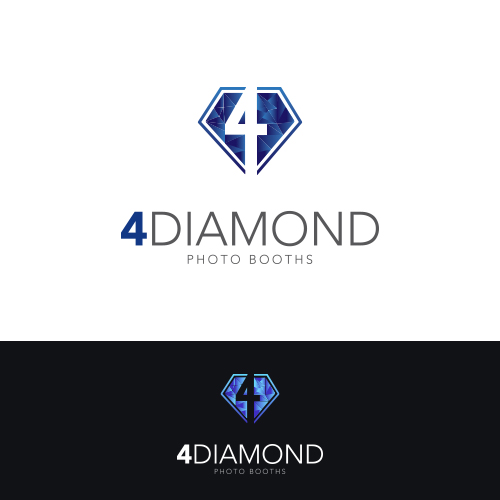 Logo Design by Private User - Entry No. 33 in the Logo Design Contest Creative Logo Design for 4 Diamond Photo Booths.