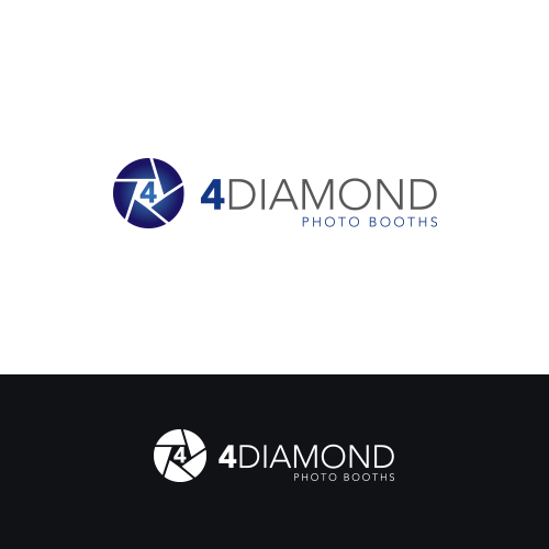 Logo Design by Private User - Entry No. 34 in the Logo Design Contest Creative Logo Design for 4 Diamond Photo Booths.