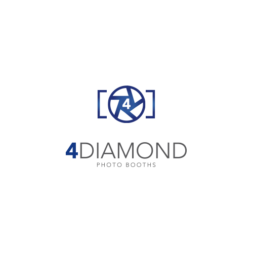 Logo Design by Private User - Entry No. 35 in the Logo Design Contest Creative Logo Design for 4 Diamond Photo Booths.