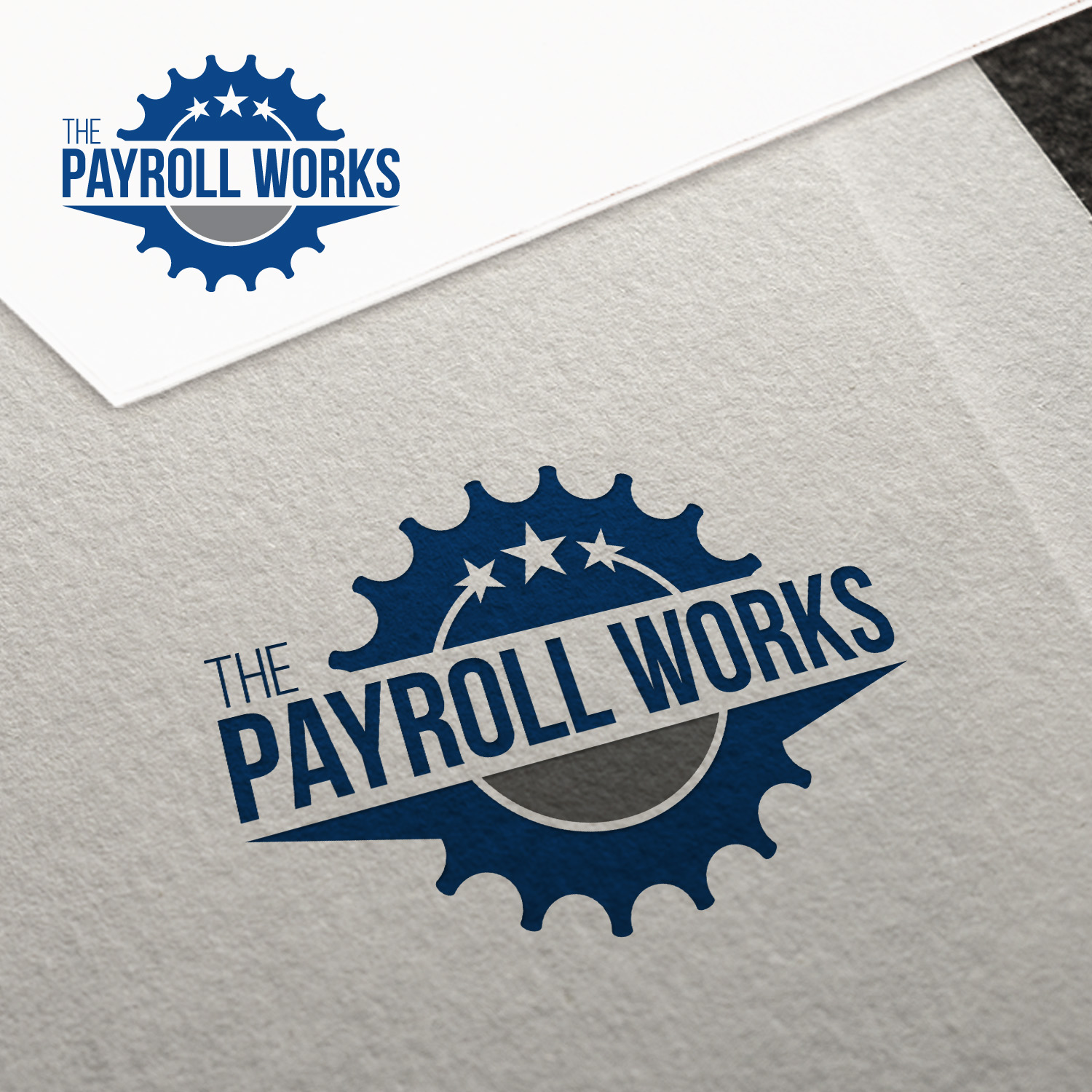 Logo Design by JerukKeprok - Entry No. 37 in the Logo Design Contest Captivating Logo Design for The Payroll Works.