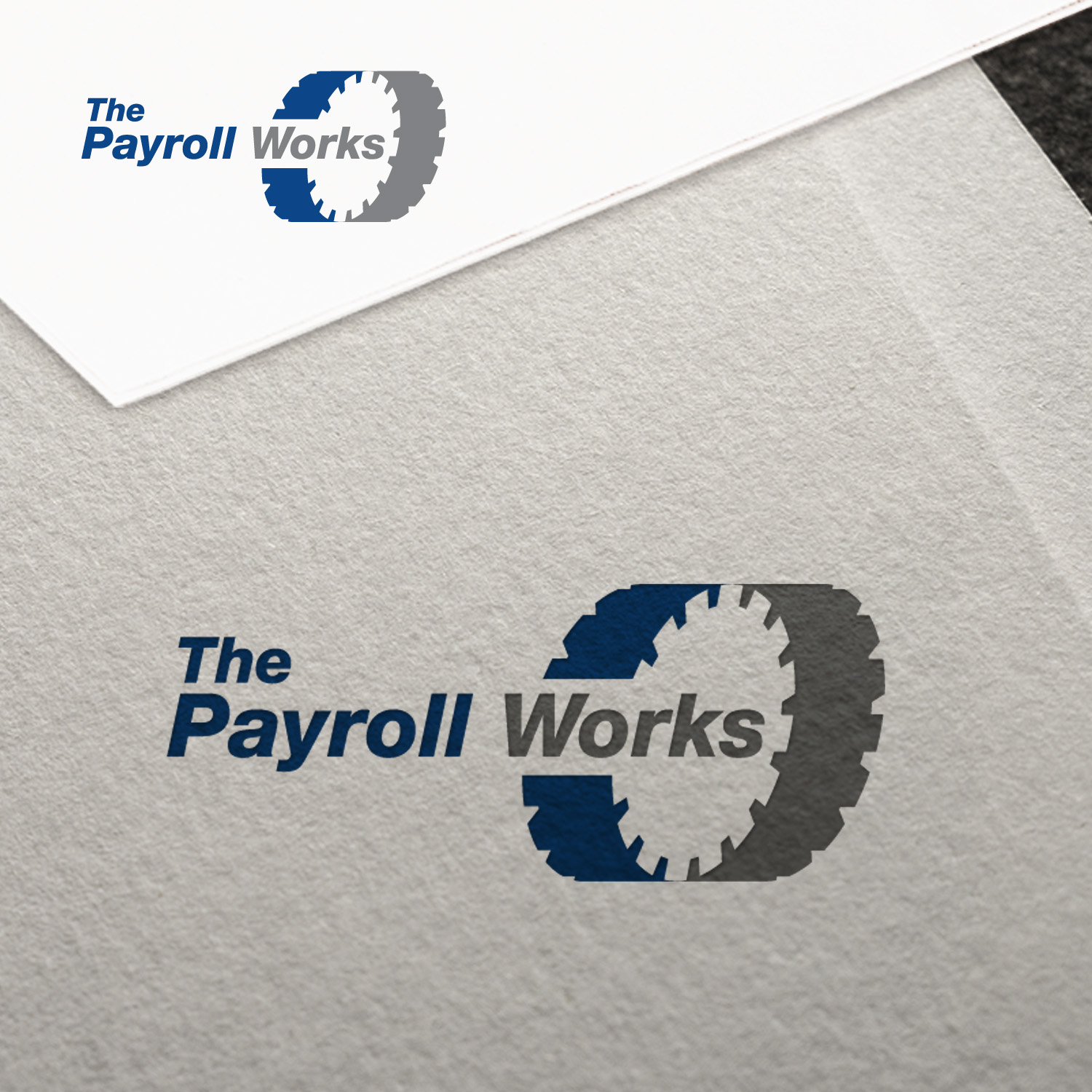 Logo Design by JerukKeprok - Entry No. 39 in the Logo Design Contest Captivating Logo Design for The Payroll Works.