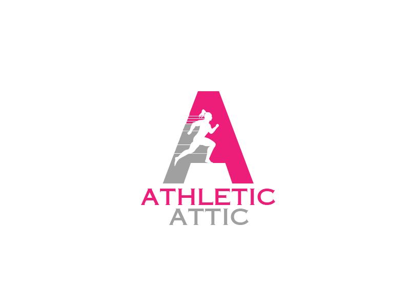Logo Design by Private User - Entry No. 184 in the Logo Design Contest Fun Logo Design for Athletic Attic.