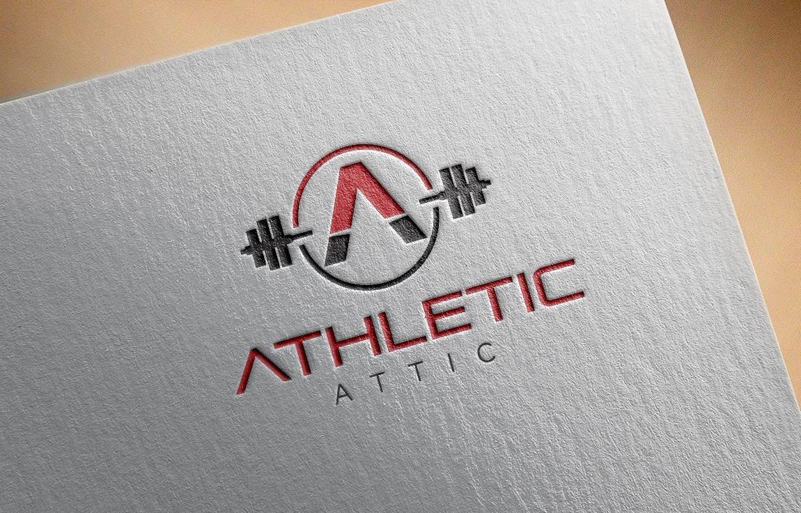 Logo Design by roc - Entry No. 186 in the Logo Design Contest Fun Logo Design for Athletic Attic.