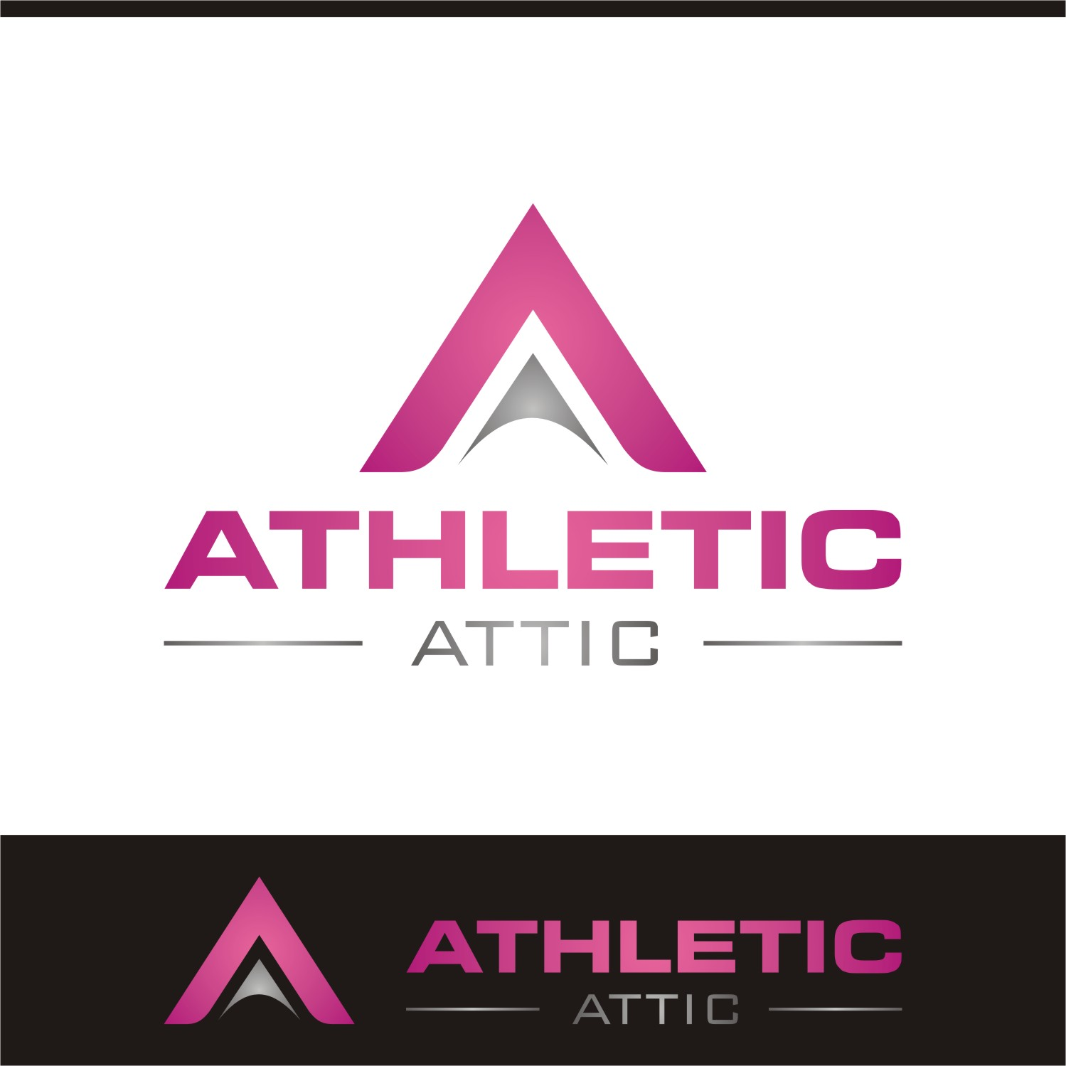 Logo Design by Spider Graphics - Entry No. 193 in the Logo Design Contest Fun Logo Design for Athletic Attic.