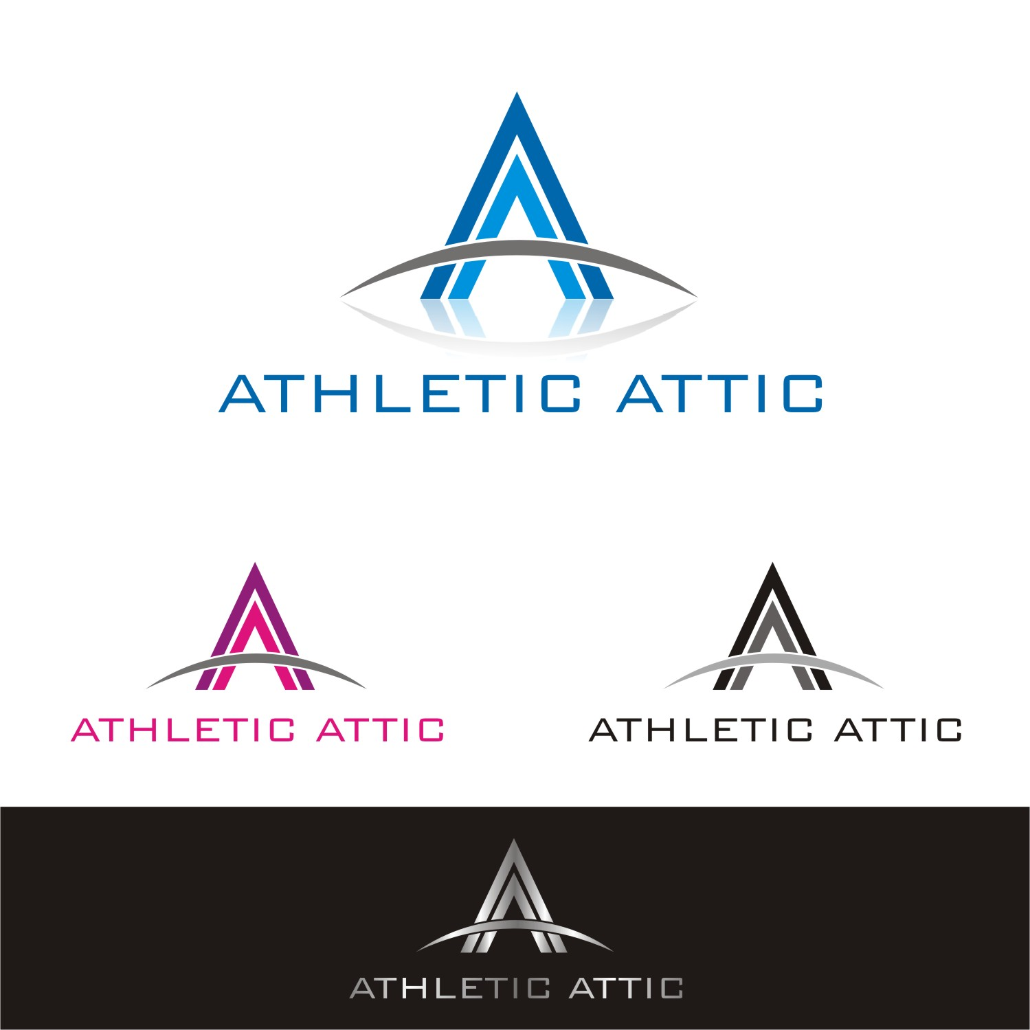 Logo Design by Spider Graphics - Entry No. 194 in the Logo Design Contest Fun Logo Design for Athletic Attic.