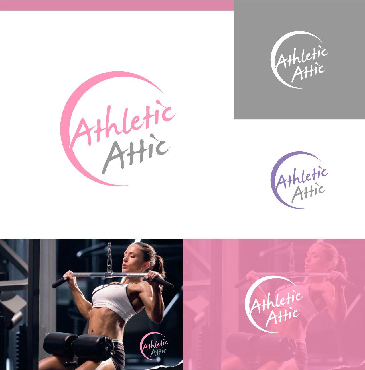 Logo Design by RasYa Muhammad Athaya - Entry No. 200 in the Logo Design Contest Fun Logo Design for Athletic Attic.