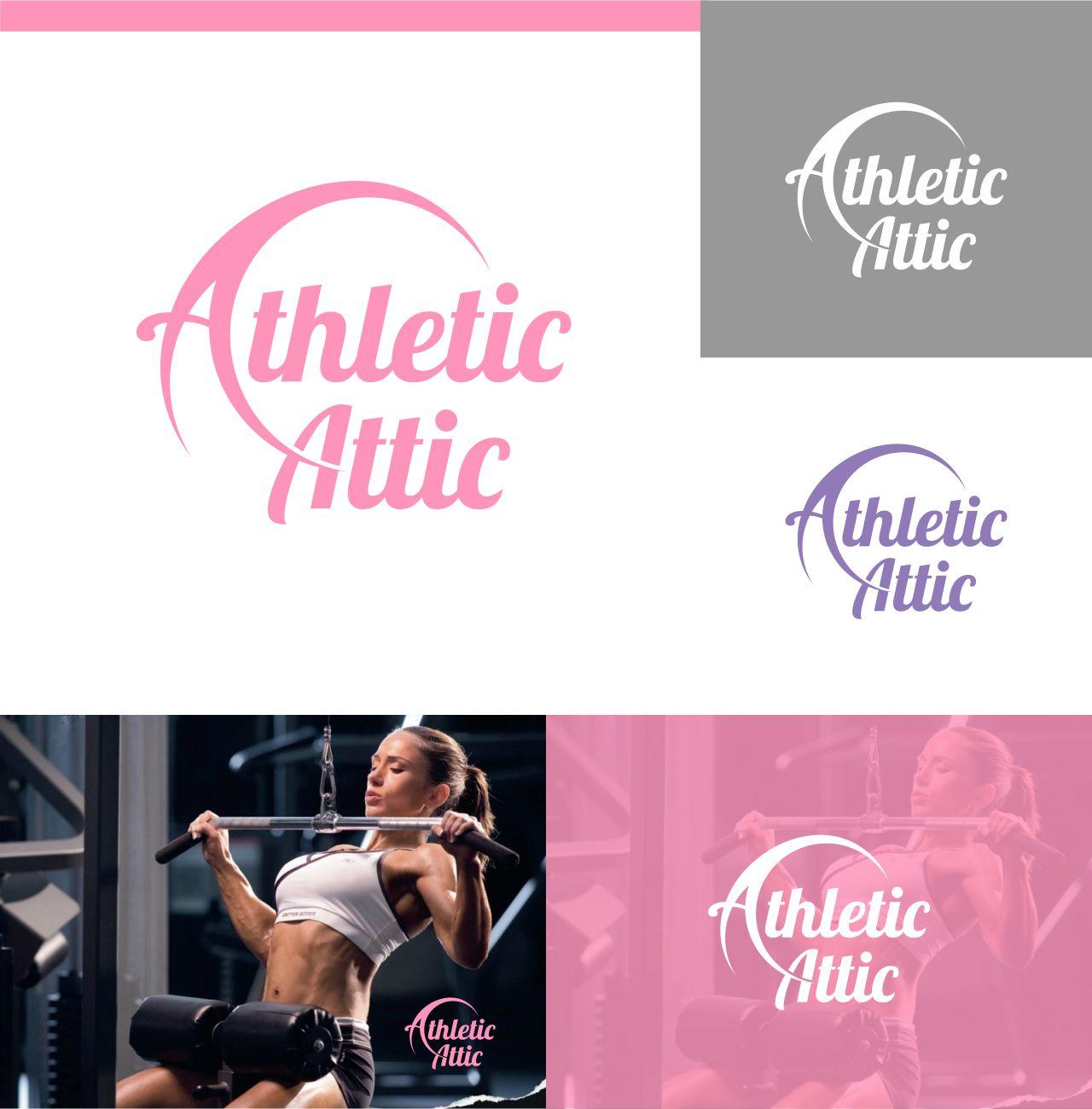 Logo Design by RasYa Muhammad Athaya - Entry No. 201 in the Logo Design Contest Fun Logo Design for Athletic Attic.