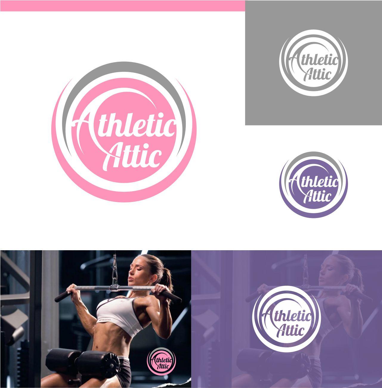 Logo Design by RasYa Muhammad Athaya - Entry No. 206 in the Logo Design Contest Fun Logo Design for Athletic Attic.