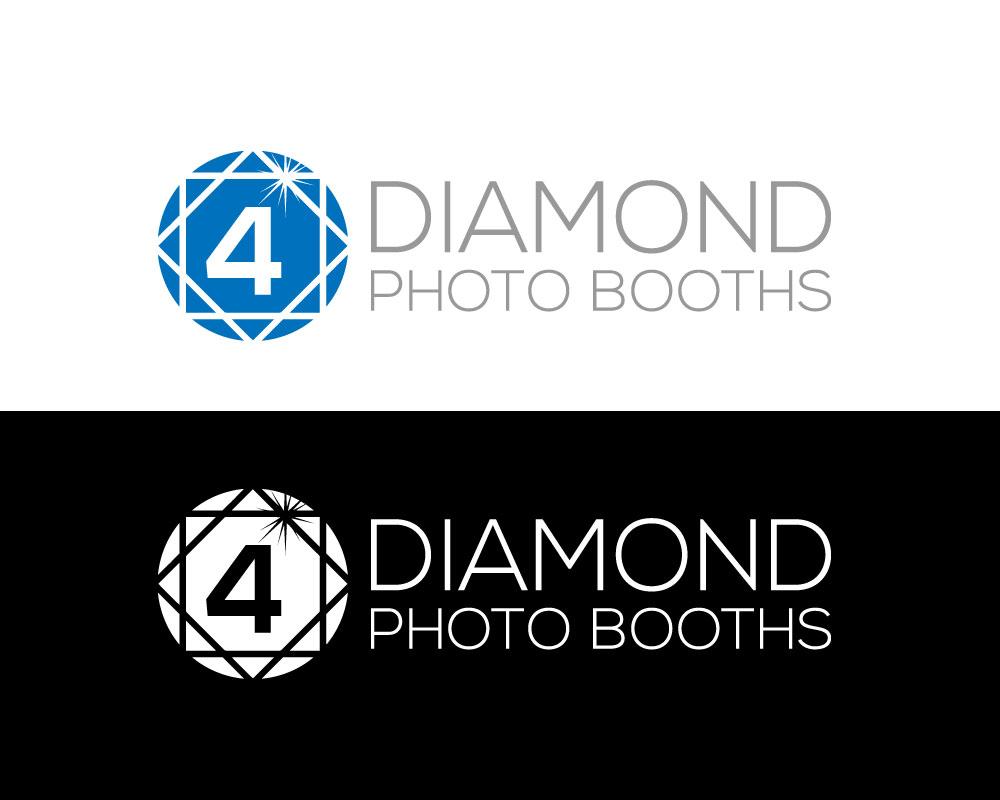 Logo Design by Mohammad azad Hossain - Entry No. 40 in the Logo Design Contest Creative Logo Design for 4 Diamond Photo Booths.