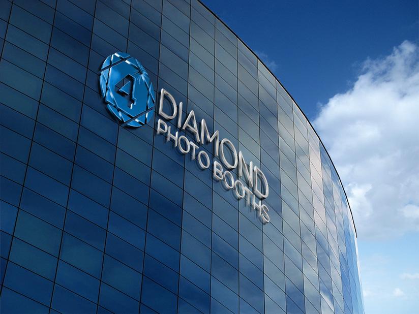 Logo Design by Mohammad azad Hossain - Entry No. 41 in the Logo Design Contest Creative Logo Design for 4 Diamond Photo Booths.