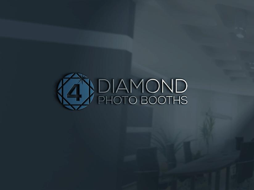 Logo Design by Mohammad azad Hossain - Entry No. 43 in the Logo Design Contest Creative Logo Design for 4 Diamond Photo Booths.