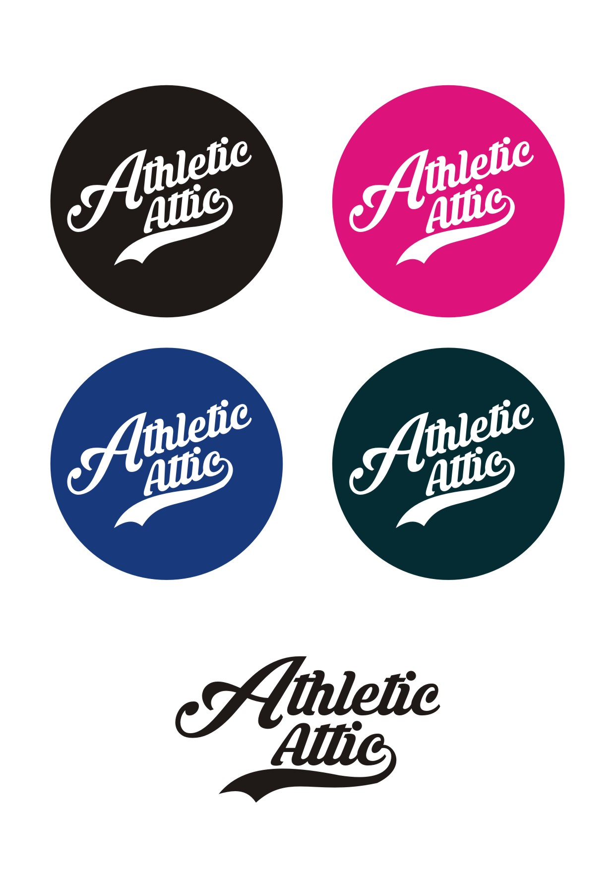 Logo Design by Lynx Graphics - Entry No. 215 in the Logo Design Contest Fun Logo Design for Athletic Attic.