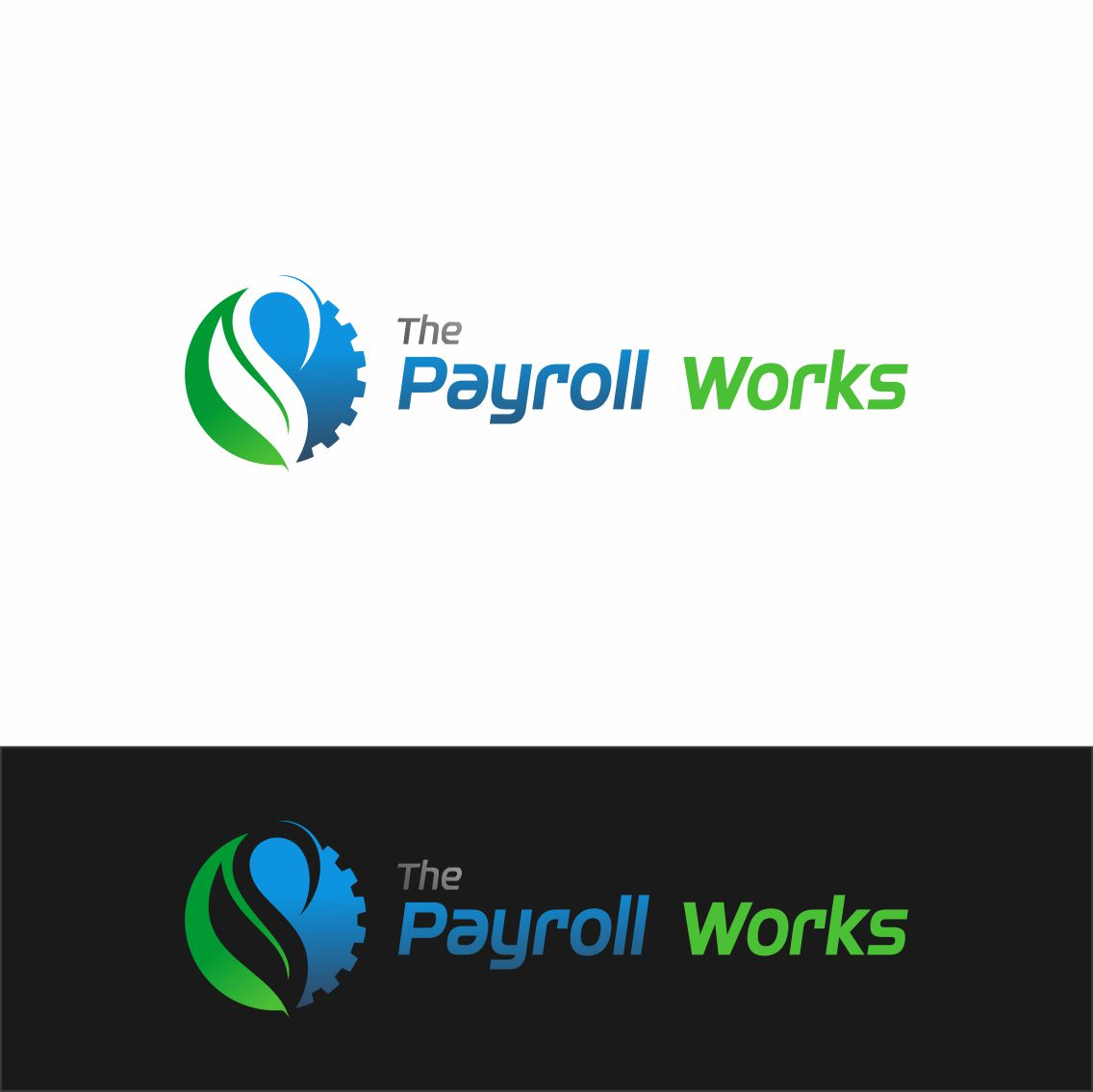 Logo Design by RasYa Muhammad Athaya - Entry No. 50 in the Logo Design Contest Captivating Logo Design for The Payroll Works.