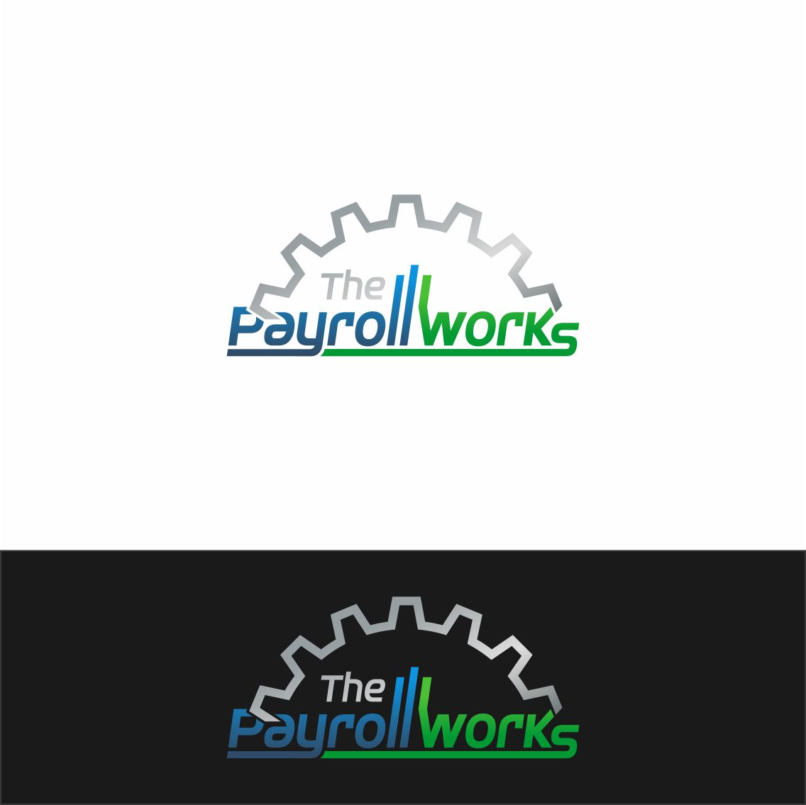 Logo Design by RasYa Muhammad Athaya - Entry No. 51 in the Logo Design Contest Captivating Logo Design for The Payroll Works.