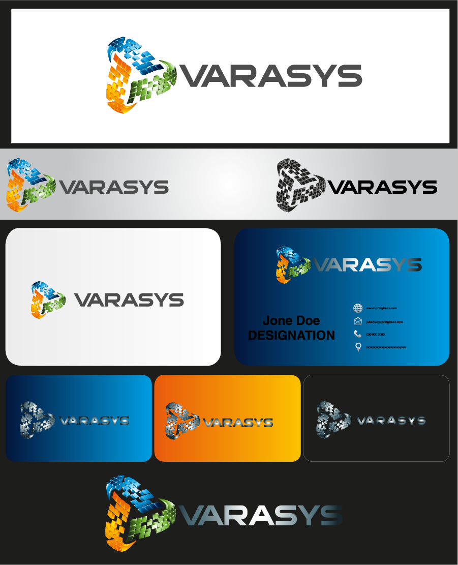 Logo Design by Private User - Entry No. 109 in the Logo Design Contest Artistic Logo Design for VARASYS Limited.