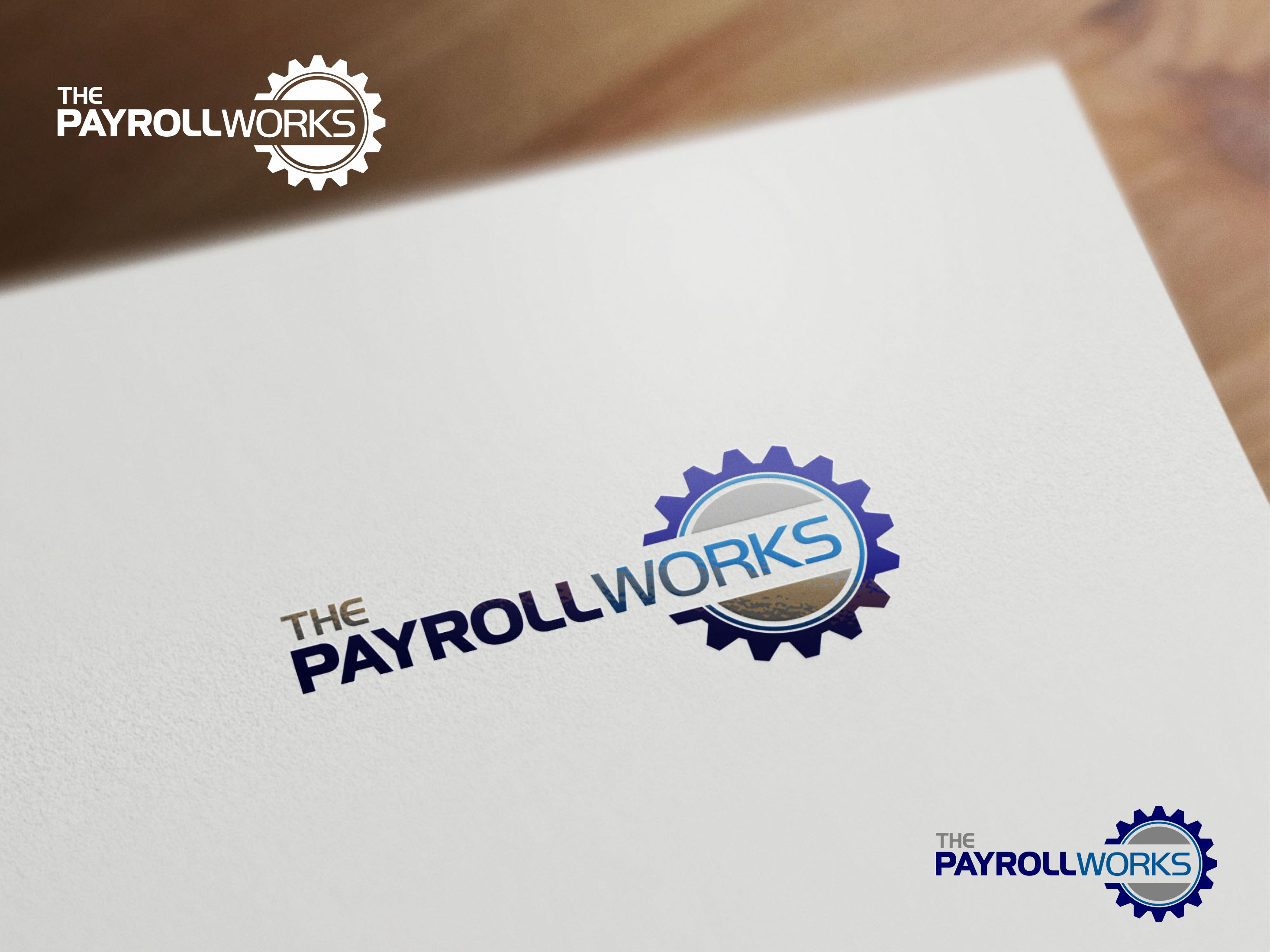 Logo Design by Raymond Garcia - Entry No. 53 in the Logo Design Contest Captivating Logo Design for The Payroll Works.