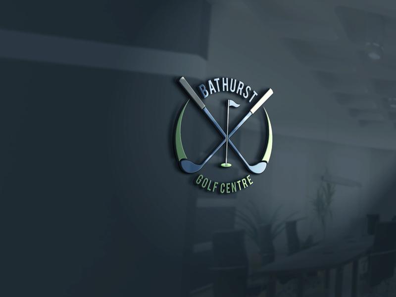 Logo Design by Private User - Entry No. 23 in the Logo Design Contest Inspiring Logo Design for Bathurst Golf Centre.
